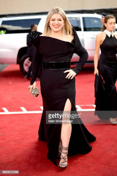 Recording artist Kelly Clarkson attends the 2018 Billboard Music Awards at MGM Grand Garden Arena on May 20 2018 in Las Vegas Nevada