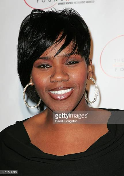 Recording artist Kelly Price attends the 1st Annual DIVA awards at Rockwell on February 27 2010 in Los Angeles California