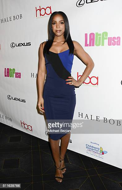 Recording artist Kelly Rowland arrives at the 2nd Annual Hollywood Beauty Awards Benefiting Children's Hospital Los Angeles at Avalon Hollywood on...