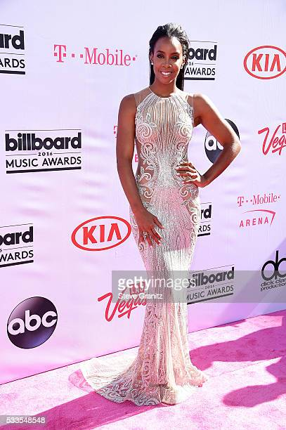 Recording artist Kelly Rowland attends the 2016 Billboard Music Awards at TMobile Arena on May 22 2016 in Las Vegas Nevada