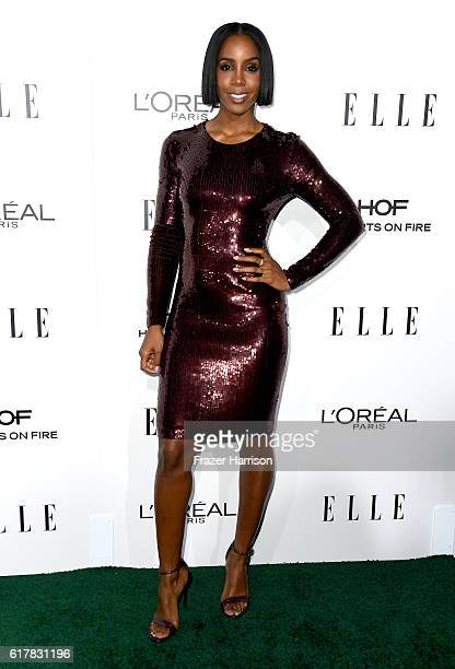Recording artist Kelly Rowland attends the 23rd Annual ELLE Women In Hollywood Awards at Four Seasons Hotel Los Angeles at Beverly Hills on October...