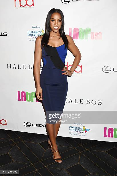 Recording artist Kelly Rowland attends the 2nd Annual Hollywood Beauty Awards benefiting Children's Hospital Los Angeles at Avalon Hollywood on...
