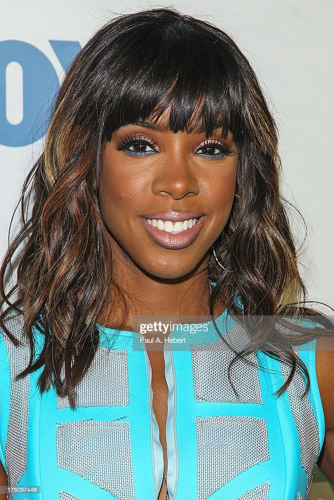 Recording artist Kelly Rowland attends the Fox All-Star Party on August 1, 2013 in West Hollywood, California.