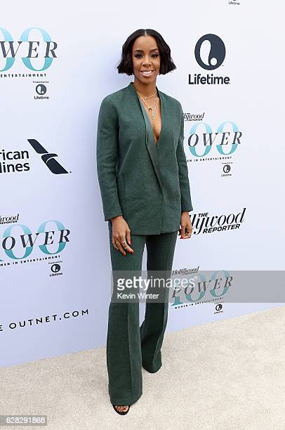 Recording artist Kelly Rowland attends The Hollywood Reporter's Annual Women in Entertainment Breakfast in Los Angeles at Milk Studios on December 7...