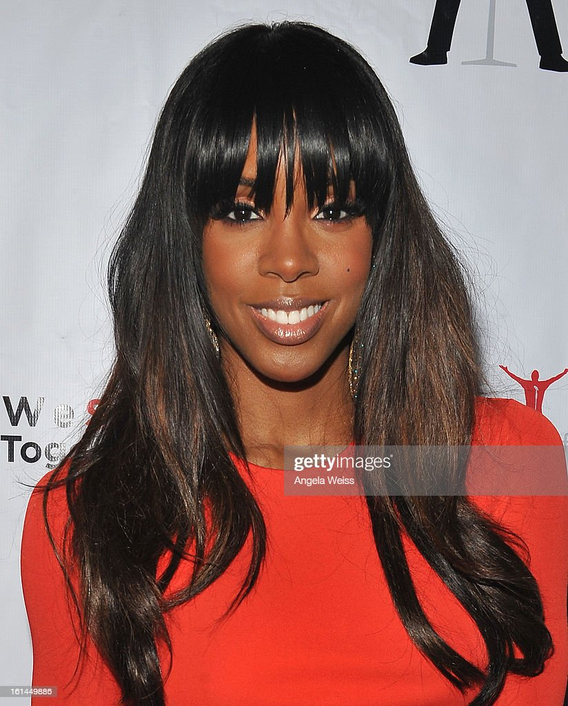 Recording artist Kelly Rowland attends the Stand Up For A Cure 2013 Concert Series and Republic Records Grammy Party at The Emerson Theatre on February 10, 2013 in Hollywood, California.