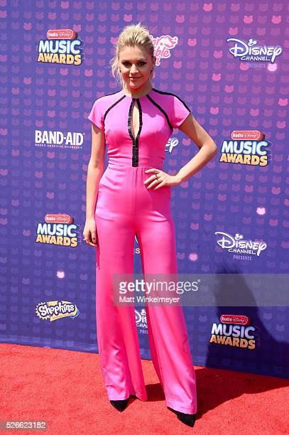 Recording artist Kelsea Ballerini attends the 2016 Radio Disney Music Awards at Microsoft Theater on April 30 2016 in Los Angeles California