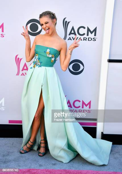 Recording artist Kelsea Ballerini attends the 52nd Academy Of Country Music Awards at Toshiba Plaza on April 2 2017 in Las Vegas Nevada
