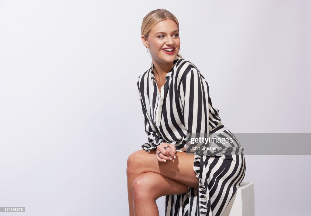 Recording artist Kelsea Ballerini poses in the portrait studio at the 2017 CMT Next Women Of Country Celebration at City Winery Nashville on November 7, 2017 in Nashville, Tennessee.