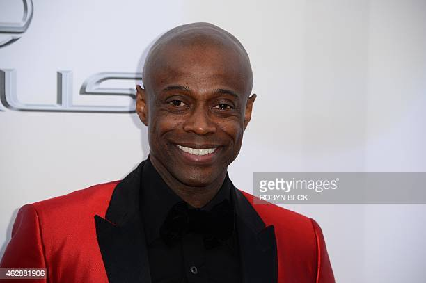 Recording artist Kem attends the 46th NAACP Image Awards at the Pasadena Civic Auditorium in Pasadena California February 6 2015 AFP PHOTO / ROBYN...