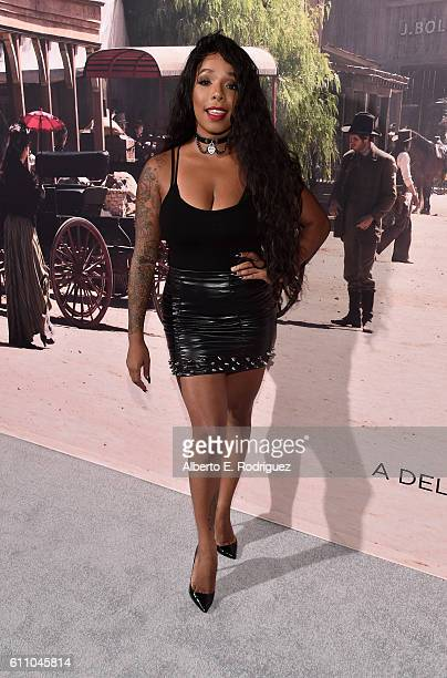 Recording artist Kendall Lake attends the premiere of HBO's Westworld at TCL Chinese Theatre on September 28 2016 in Hollywood California