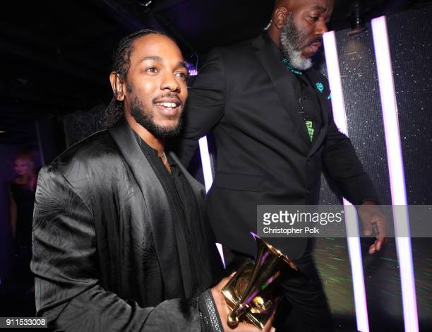 Recording artist Kendrick Lamar attends the 60th Annual GRAMMY Awards at Madison Square Garden on January 28, 2018 in New York City.