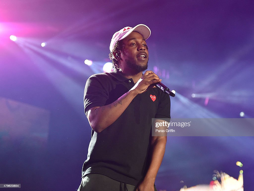 Recording artist Kendrick Lamar performs onstage at the 2015 Essence Music Festival on July 5, 2015 at Mercedes-Benz Superdome in New Orleans, Louisiana.