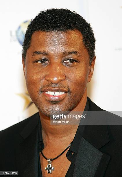 Recording artist Kenneth Babyface Edmonds arrives at a benefit dinner and concert for Project Restart and the New York Rescue Workers Detoxification...