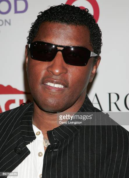 Recording artist Kenneth Babyface Edmonds attends the HollyRod Foundation's 11th Annual DesignCare Fundraiser at a private residence on July 25 2009...