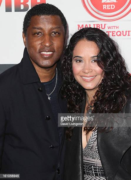 Recording artist Kenneth Edmonds aka Babyface and Nicole Nikki Pantenburg attend VIBE's 20th Anniversary Celebration and Inaugural Impact Awards at...