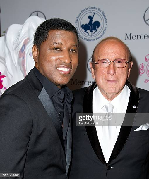 Recording Artist Kenny Babyface Edmonds and Record Producer Clive Davis attend the 2014 Carousel Of Hope Ball Presented By MercedezBenz at The...