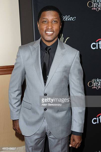 Recording artist Kenny Babyface Edmonds attends The Grove's 11th annual Christmas Tree Lighting Spectacular at The Grove on November 17 2013 in Los...