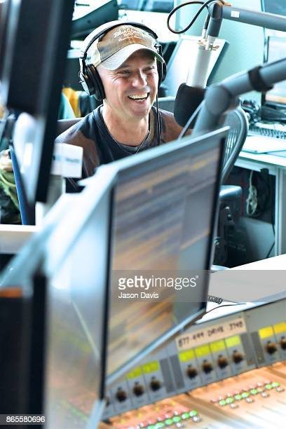 Recording Artist Kenny Chesney visits SiriusXM Host Storme Warren at SiriusXM Studios on October 23 2017 in Nashville Tennessee