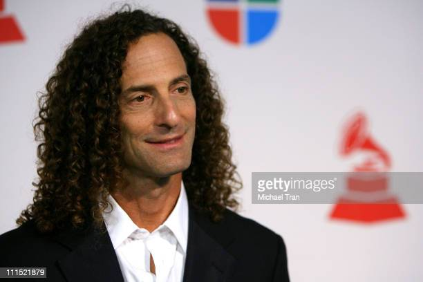 Recording artist Kenny G arrives at the 9th Annual Latin Grammy Awards held at Toyota Center on November 13 2008 in Houston Texas