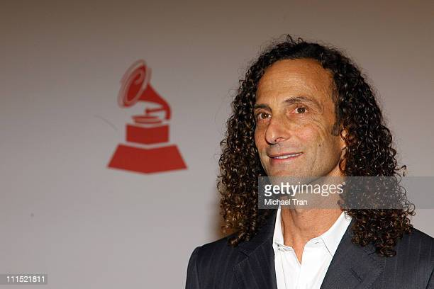 Recording artist Kenny G attends the 2008 Latin Recording Academy Person of the Year Tribute to Gloria Estefan held at George R Brown Convention...