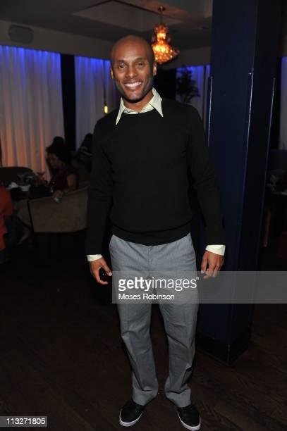 Recording Artist Kenny Lattimore attends the American Black Film Festival Atlanta Buzz Party at Luxe Ultra Lounge on April 28 2011 in Atlanta Georgia