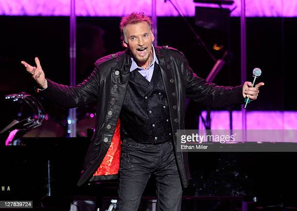 Recording artist Kenny Loggins performs during the David Foster and Friends concert at the Mandalay Bay Events Center October 1 2011 in Las Vegas...