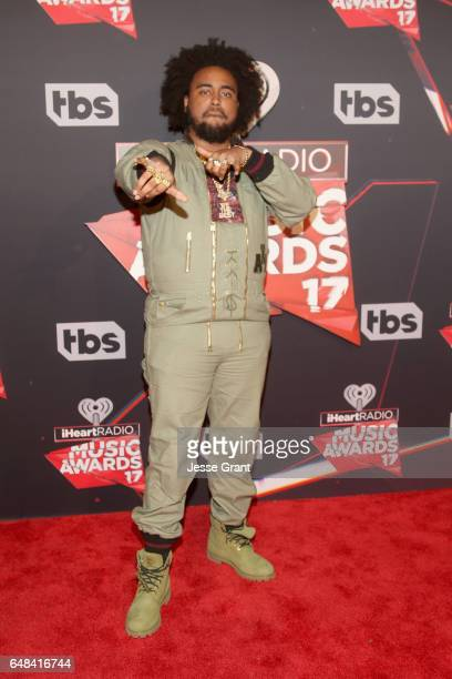 Recording artist Kent Jones attends the 2017 iHeartRadio Music Awards which broadcast live on Turner's TBS TNT and truTV at The Forum on March 5 2017...