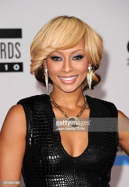 Recording artist Keri Hilson arrives at the 2010 American Music Awards held at Nokia Theatre LA Live on November 21 2010 in Los Angeles California