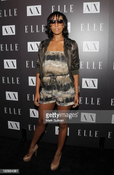"""Recording artist Keri Hilson attends """"Disco Glam"""" at A