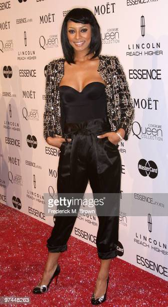 Recording artist Keri Hilson attends the third annual Essence Black Women in Hollywood Luncheon at the Beverly Hills Hotel on March 4, 2010 in...
