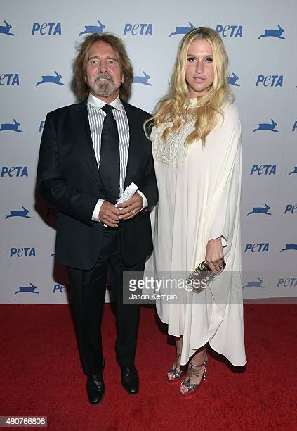Recording artist Kesha attends PETA's 35th Anniversary Party at Hollywood Palladium on September 30 2015 in Los Angeles California