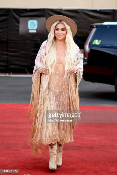 Recording artist Kesha attends the 2018 Billboard Music Awards at MGM Grand Garden Arena on May 20 2018 in Las Vegas Nevada