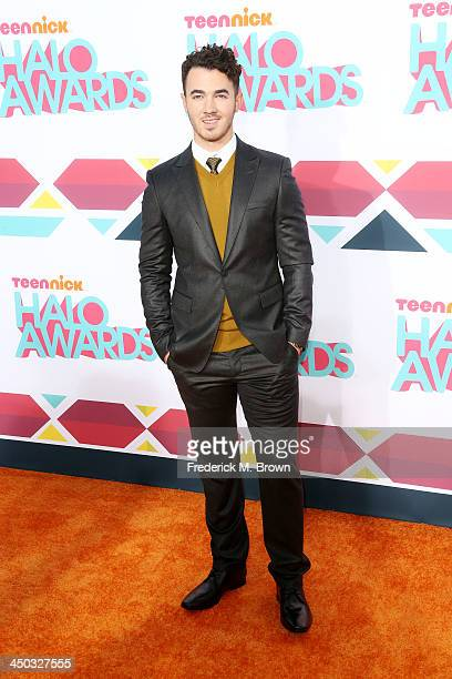 Recording artist Kevin Jonas attends the 2013 HALO Awards at the Hollywood Palladium on November 17 2013 in Hollywood California