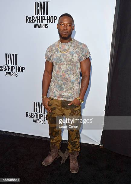 Recording artist Kevin McCall attends the 2014 BMI RB/HipHop Awards at the Pantages Theatre on August 22 2014 in Hollywood California