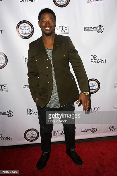 Recording artist Kevin McCall attends the NAACP The Gala After Party at House Of Macau on February 5 2016 in Los Angeles California