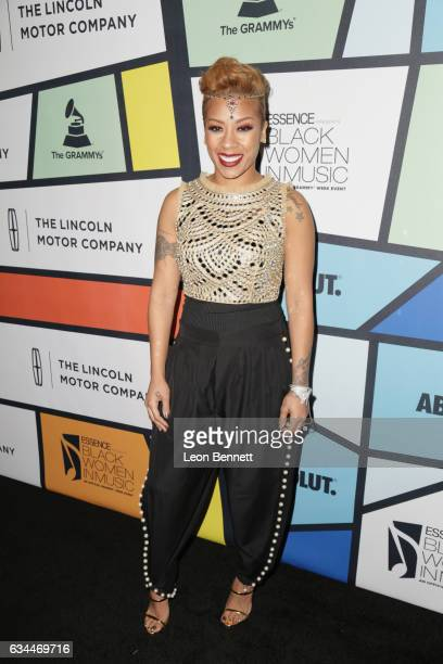 Recording artist Keyshia Cole attends 2017 Essence Black Women in Music at NeueHouse Hollywood on February 9 2017 in Los Angeles California