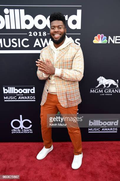 Recording artist Khalid attends the 2018 Billboard Music Awards at MGM Grand Garden Arena on May 20 2018 in Las Vegas Nevada