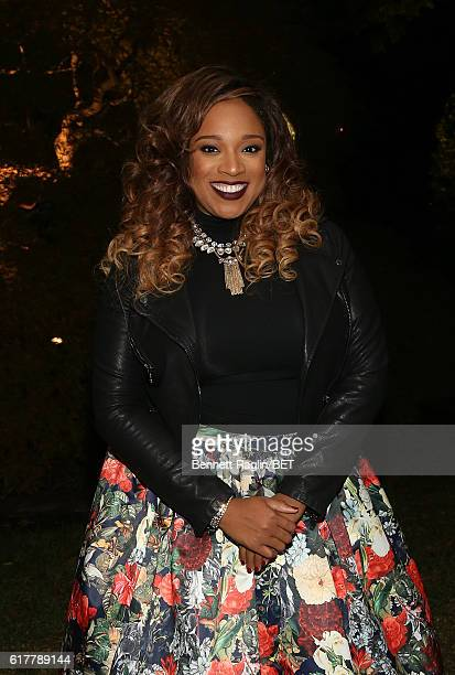 Recording artist Kierra Sheard attends BET's An Obama Celebration BET's at The White House on October 21 2016 in Washington DC
