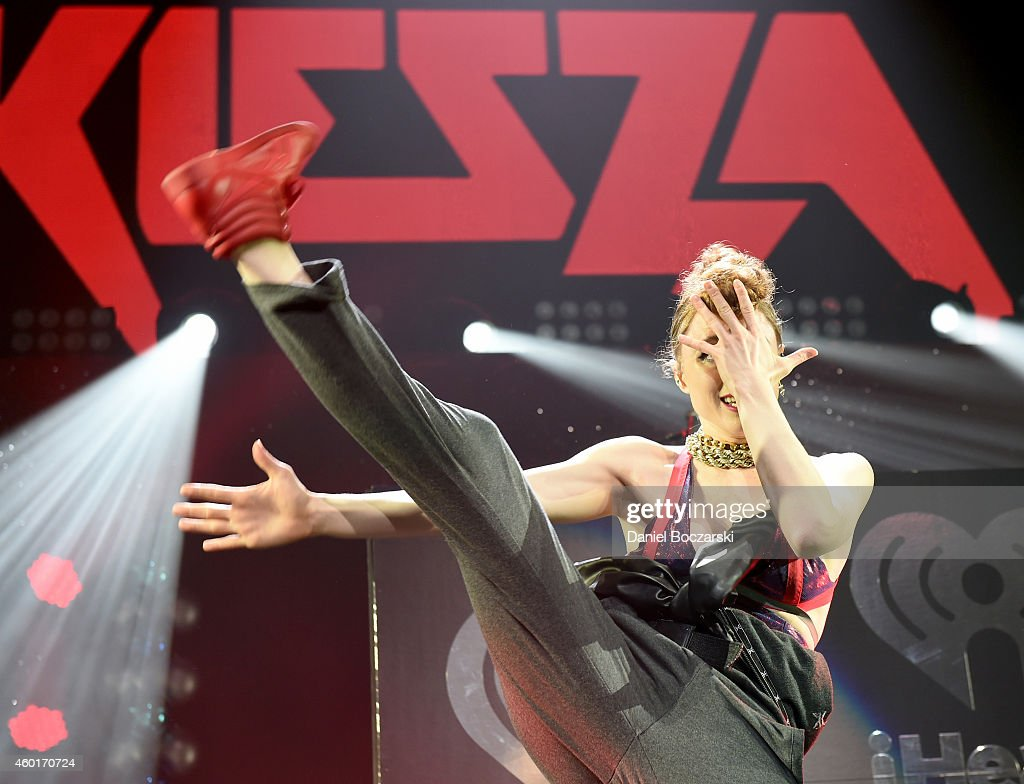 Recording artist Kiesza performs onstage at 101.3 KDWB's Jingle Ball 2014 presented by Sky Zone Indoor Trampoline Park and Allstate at Xcel Energy Center on December 8, 2014 in St Paul, Minnesota.