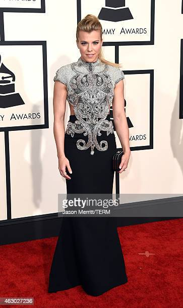 Recording artist Kimberly Perry of music group The Band Perry attends The 57th Annual GRAMMY Awards at the STAPLES Center on February 8 2015 in Los...