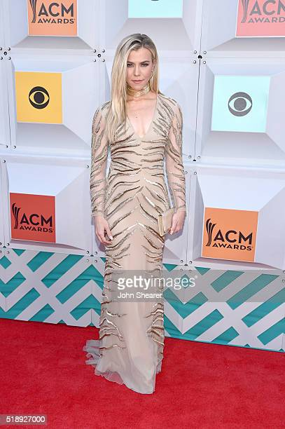 Recording artist Kimberly Perry of The Band Perry attends the 51st Academy of Country Music Awards at MGM Grand Garden Arena on April 3 2016 in Las...