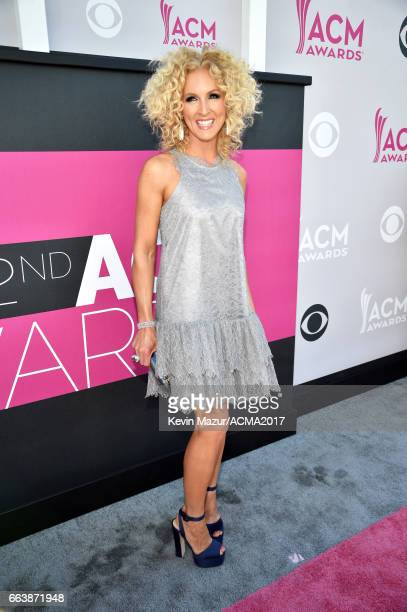 Recording artist Kimberly Schlapman of music group Little Big Town attends the 52nd Academy Of Country Music Awards at Toshiba Plaza on April 2 2017...