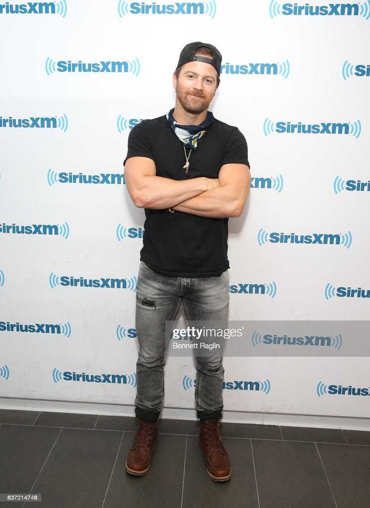 Recording artist Kip Moore visits SiriusXM at SiriusXM Studios on August 22, 2017 in New York City.