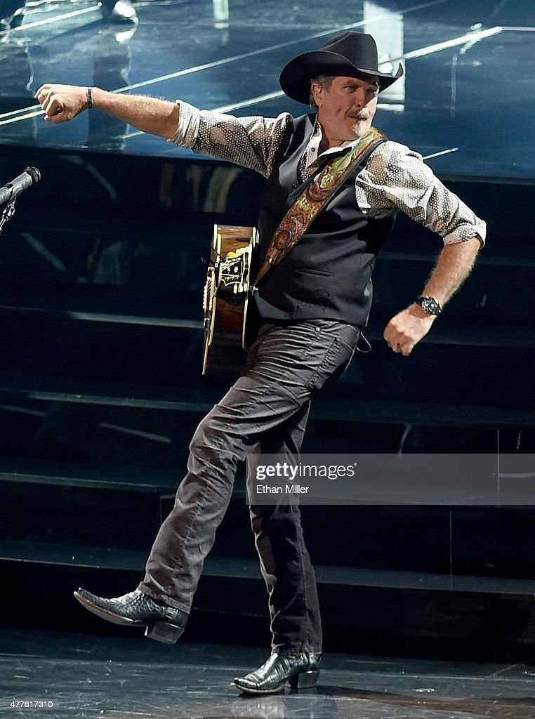 Recording artist Kix Brooks performs during the opening weekend of his residency 'Reba, Brooks & Dunn: Together in Vegas' with Reba McEntire and Ronnie Dunn (not pictured) at The Colosseum at Caesars Palace on June 19, 2015 in Las Vegas, Nevada.