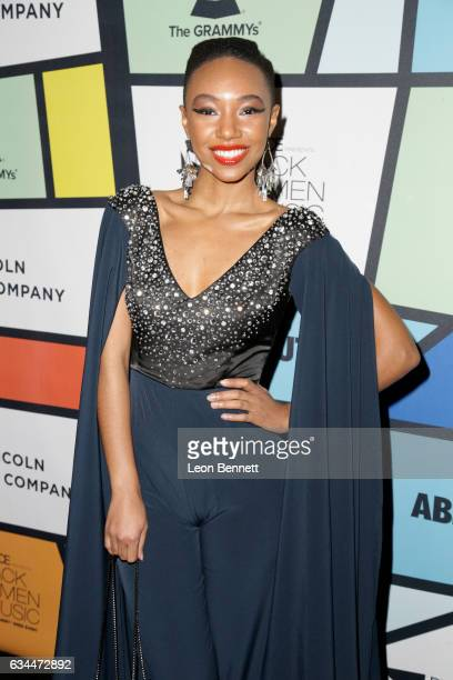 Recording artist Kriss Mincey attends 2017 Essence Black Women in Music at NeueHouse Hollywood on February 9 2017 in Los Angeles California