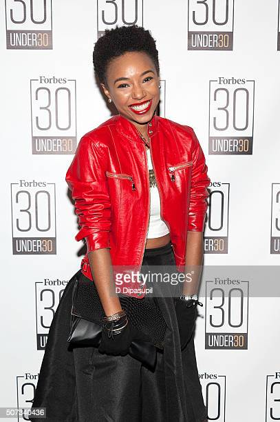 Recording artist Kriss Mincey attends the 2016 Forbes 30 Under 30 at Forbes on Fifth on January 28 2016 in New York City