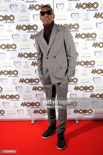 Recording artist Labrinth attends the 2012 MOBO awards at Echo Arena on November 3 2012 in Liverpool England