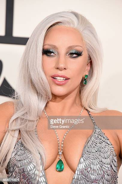 Recording artist Lady Gaga attends The 57th Annual GRAMMY Awards at the STAPLES Center on February 8 2015 in Los Angeles California