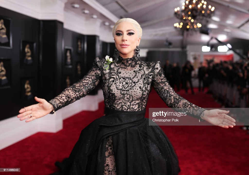 Recording artist Lady Gaga attends the 60th Annual GRAMMY Awards at Madison Square Garden on January 28, 2018 in New York City.