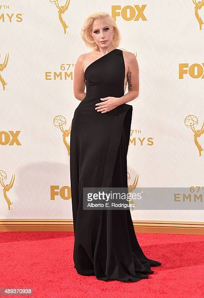 Recording artist Lady Gaga attends the 67th Emmy Awards at Microsoft Theater on September 20 2015 in Los Angeles California 25720_001